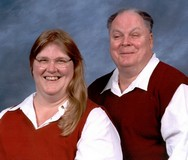 This is Bob & Helen posing for a professional photographer.